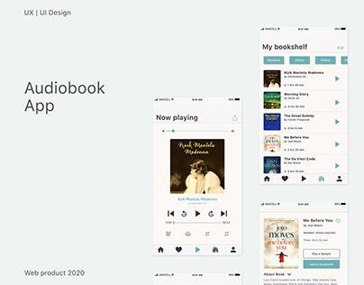 Audiobook App | UX/UI Design