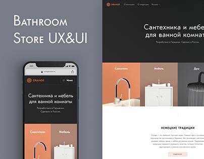 Bathroom store Redesign