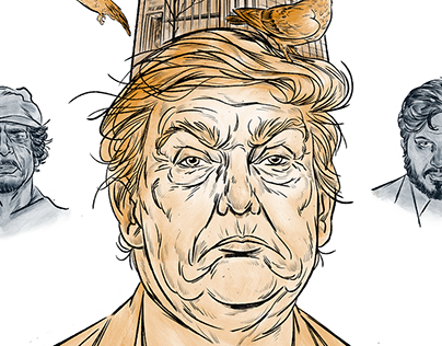 Trump Tower / Dossier Magazine // Illustration