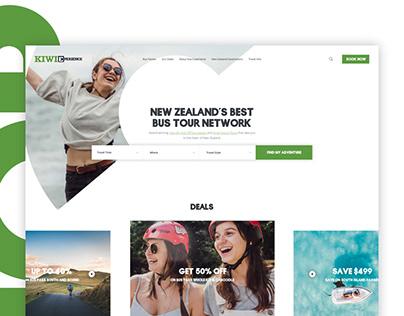 Redesign website for Hop-on Hop-off travel business