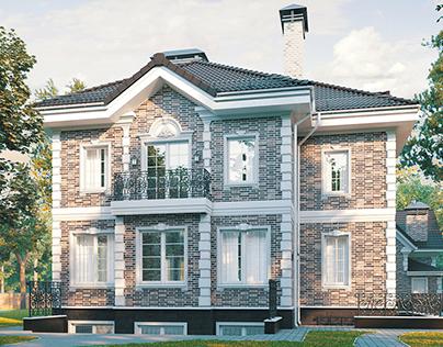 House in Kaliningrad