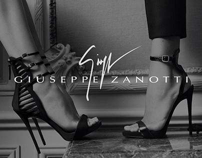 Giuseppe Zanotti — redesign website