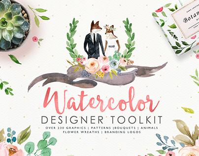 Watercolor Designer Toolkit