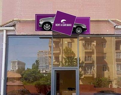 Development of outdoor advertising layout