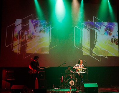 live visuals for bands