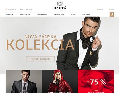 New website for www.ozeta.sk