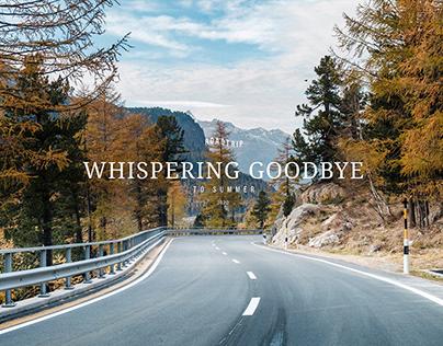 Whispering Goodbye To Summer