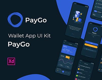 PayGo – Wallet App UI Kit