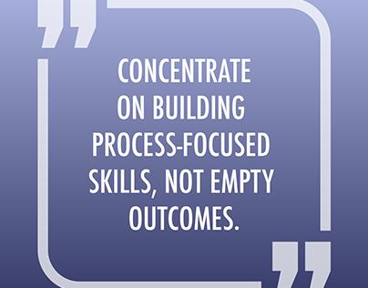 Build the skills