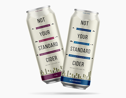 Seattle Cider Co. Seasonal Cans
