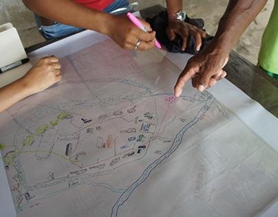 Plan de vida comunidad Playa Blanca // Diseño participa
