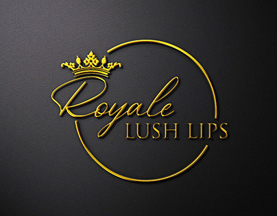 LOGO DESIGN: ROYALE LUSH LIPS