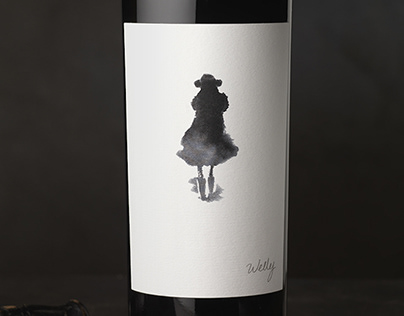 Welly (Lail Vineyards) Wine Logo & Packaging