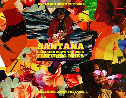 SANTANA - BREAKING DOWN THE DOOR (Music Video)