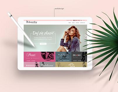 Bootky e-commerce
