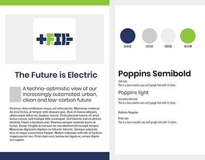 The Future Is Electric Branding