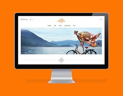 Hermès Website Redesign