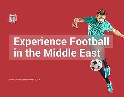 Jamaheer Football App Design