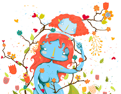Primavera - 2º Prémio - Março'16 IlustraçãoCP