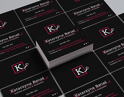 Personalbusiness card for nail stylist &makeup artist
