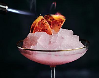 Pink Cocktail Inspiration by Rachel Korinek.