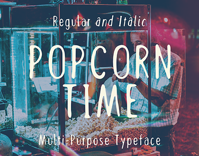 Popcorn Time - FREE FONT