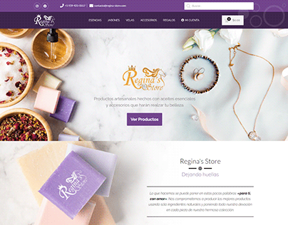 Sitio Web Regina's Store