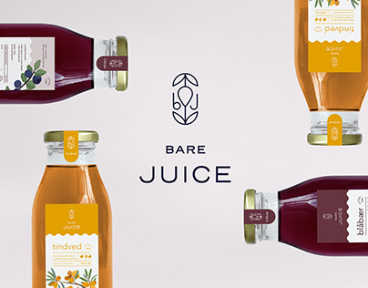 Bare Juice | Branding, Packaging, Illustration