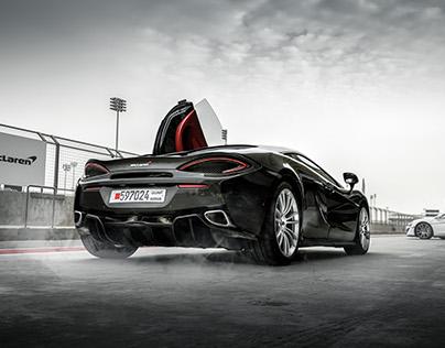 McLaren driving experience event