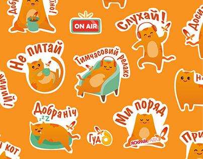 Stickers cat 2021