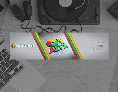 Youtube Channel Logo & Cover (AITX MIX)