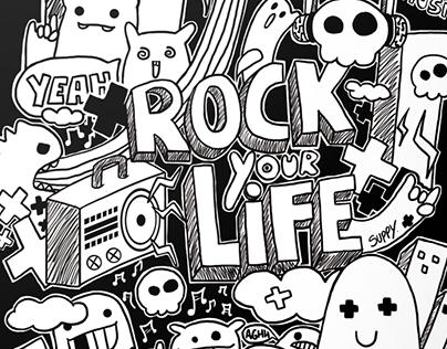 """Ilustración / Illustration """"Rock your Life"""""""