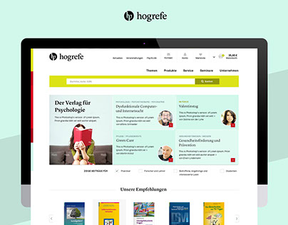 Hogrefe Onlineshop