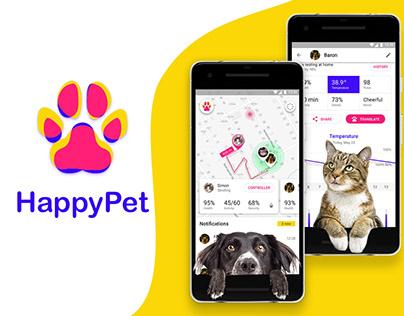 Happypet app  UX process