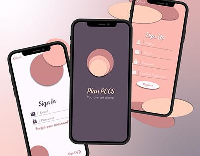 Plan PCOS Concept