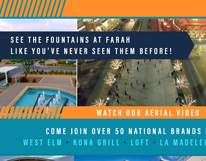 Web Ad: Fountains at Farah