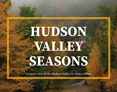Hudson Valley Seasons Editorial