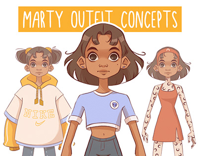 Marty Outfit Concepts