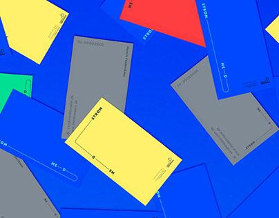 Medstrøm - Graphic identity