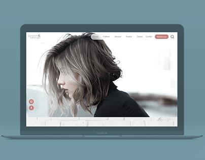 gosselin & bélanger coiffure - Design Web