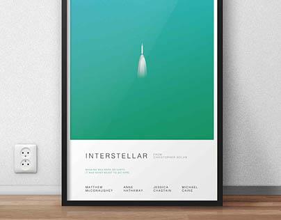 Interstellar Poster Series