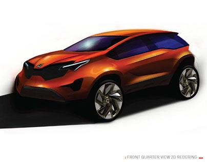 Transportation design : Honda