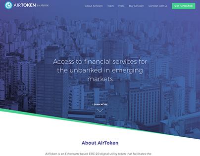 Airfox: AirToken Website
