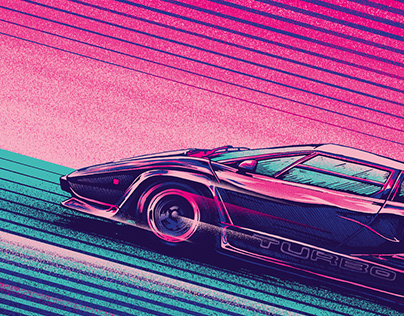Lamborghini Countach Turbo