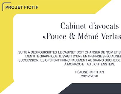 "Etude Logo fictif ""Pouce & Mémé Verlasorti"""