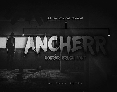 FREE | Ancherr Brush Font