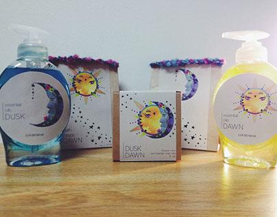 Dawn / Dusk Bath Packaging