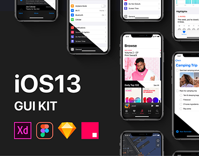 iOS13 GUI KIT