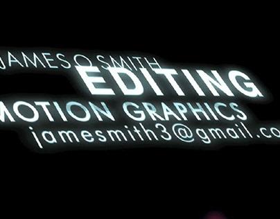 Video Edit Reel