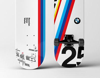 Skate deck design - car brands